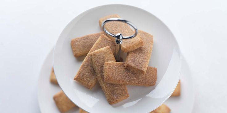 Adam Stokes' shortbread recipe combines vanilla and cinnamon to provide a real treat