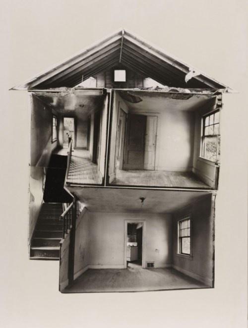 Building cuts by Gordon Matta-Clark