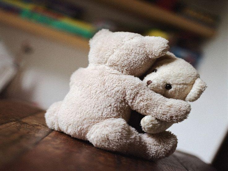 Nothing like a teddy bear hug