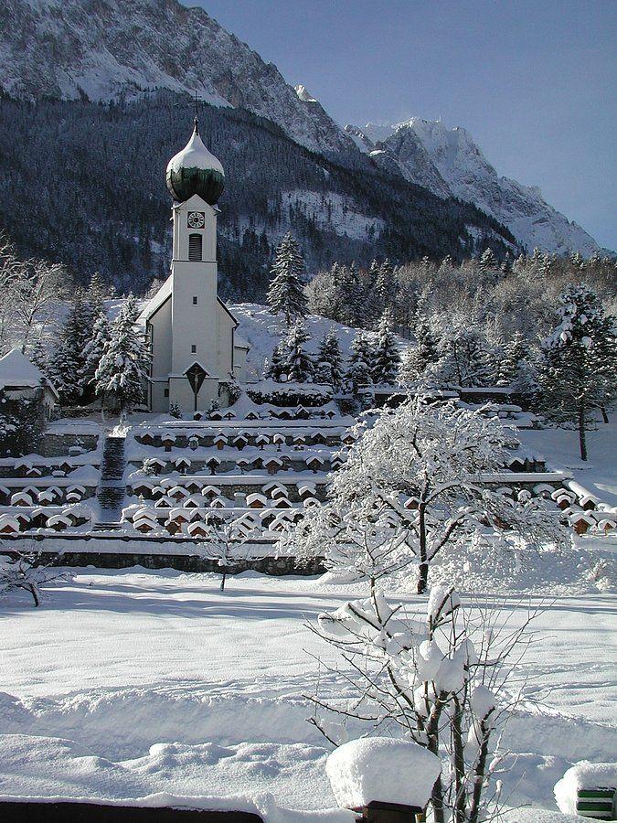 Grainau-Obergrainau, Pfarrkirche St. Johannes der Täufer (Garmisch-Partenkirchen) BY DE