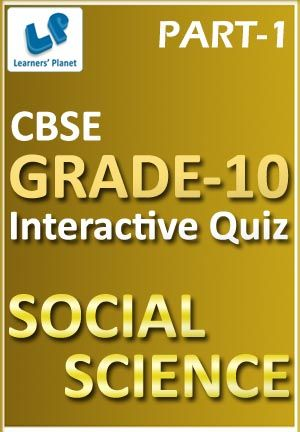 10-CBSE-SOCIAL SCIENCE-PART-1 Interactive quizzes & worksheets on Democratic politics-II and Understanding economic development for grade-10 CBSE Social Science students. Topics :  Democratic politics-II: Popular struggles & movements, Challenges to democracy, Democracy and diversity, Federalism, Gender, religion & caste, Political parties, Outcomes of democracy, Power sharing Total Questions : 300+ Pattern of questions : Multiple Choice Questions   PRICE :- RS.61.00