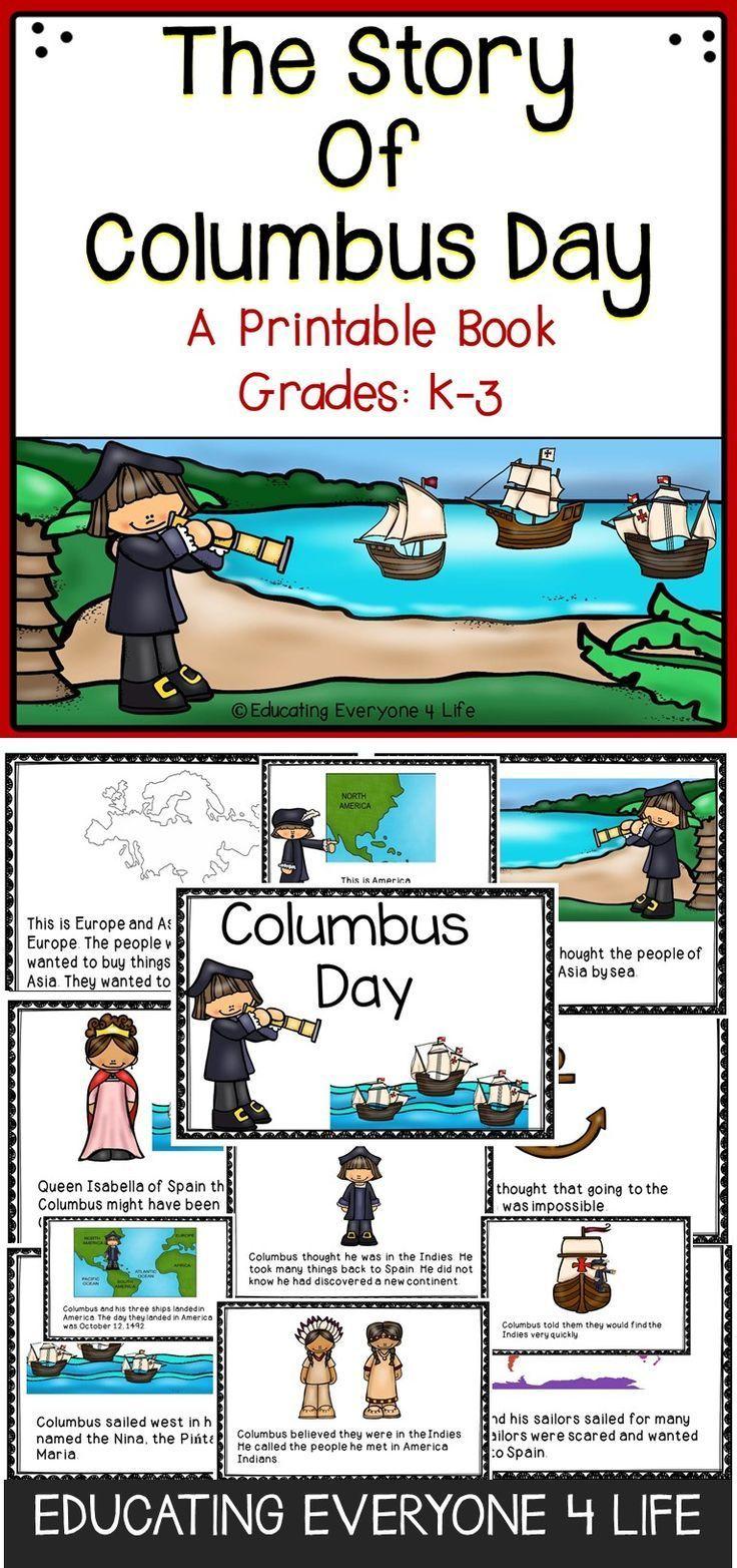 Columbus Day - Classroom Activities