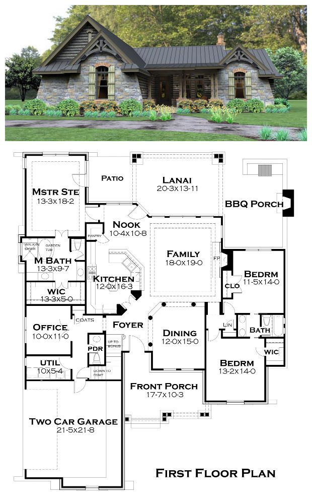 cottage country tuscan house plan 65874 lanai patio
