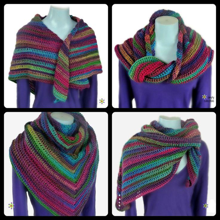 Lily's Rose Garden Shawl By  Celina Lane - Free Crochet Pattern - (ravelry)