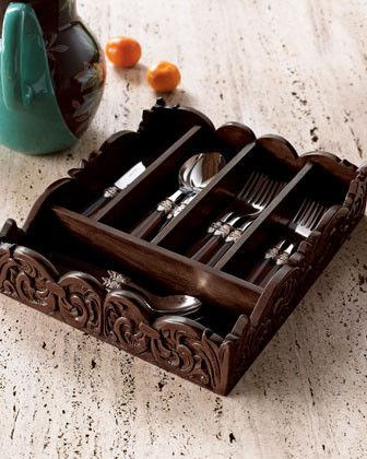 Wooden-Flatware-Caddy-traditional-flatware-at horchow