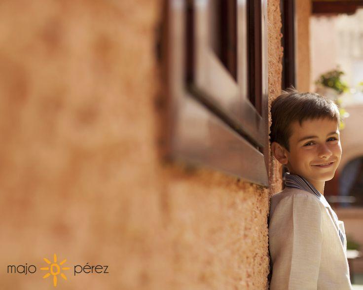 fotografía de comunión en exterior en vilareal y castellón