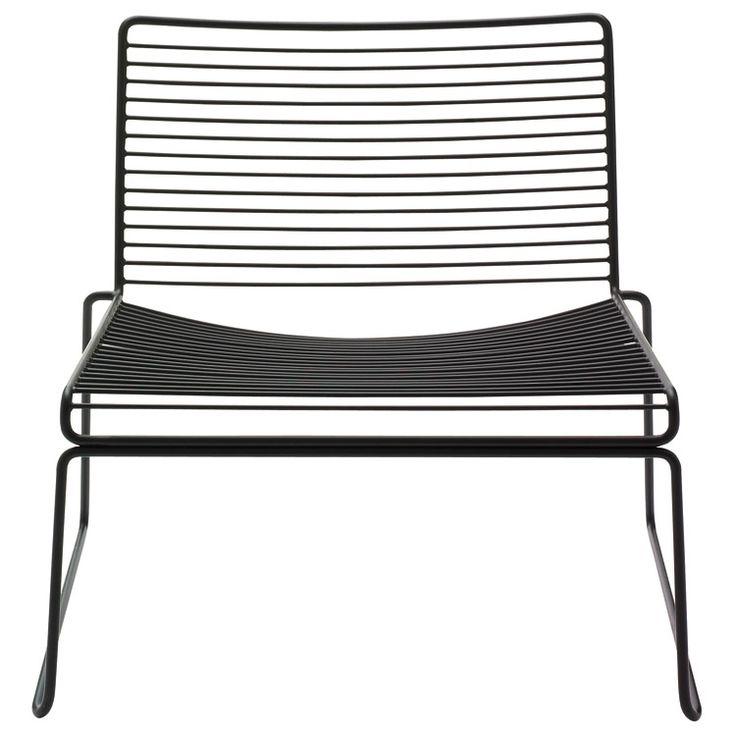 Hee Lounge chair, svart i gruppen Møbler / Lenestoler / Lenestoler hos ROOM21.no (102649)