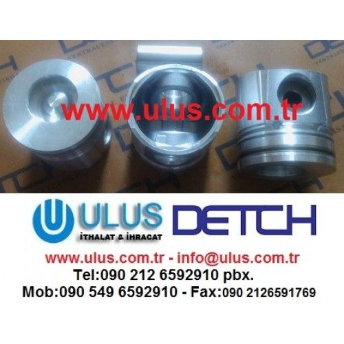 6735-31-2110 Piston Komatsu Orjinal DETCH piston, SA6D102E WA320-3 DETCH komatsu motor parçası