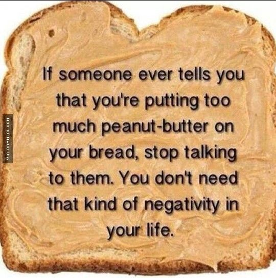 Too Much Peanut Butter