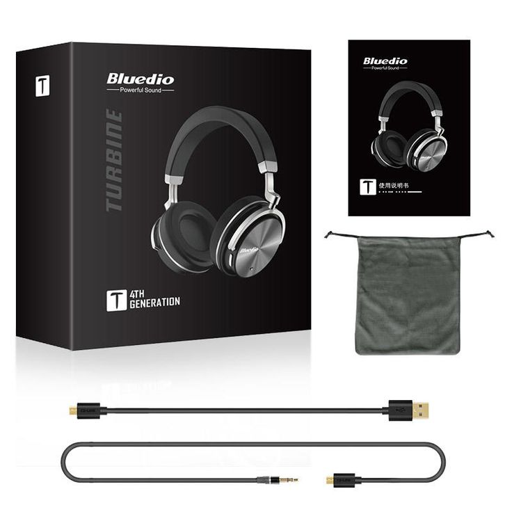 Original Bluedio T4 Active Noise Cancelling ANC Wireless Bluetooth Headphone Headset With Mic Sale - Banggood.com  smartphones cellphones mobile android accessories