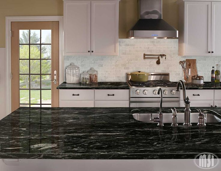 Silver Waves Granite Kitchen Titanium Granite Granite