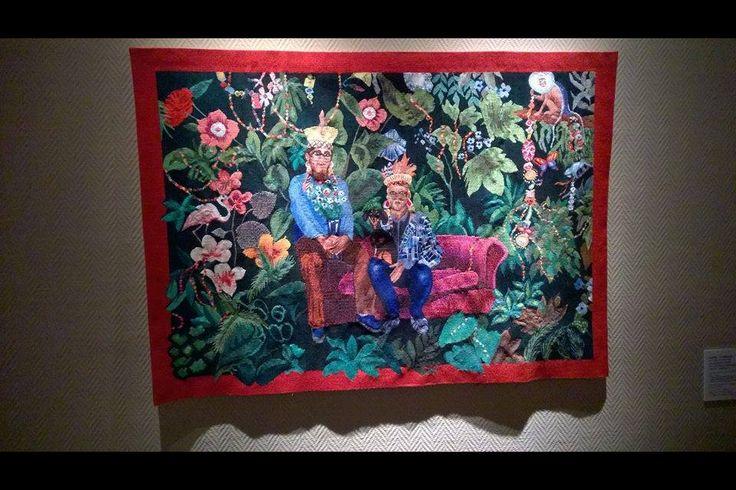 """""""Les Métamorphoses"""".  Musée Bargoin.  Curator: Christine Boilloc.  Clermont-Ferrand.  France.  13 Septembre 2014 -Mars 2015 #aubusson"""