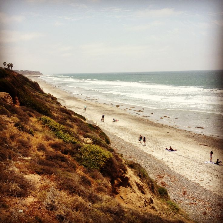 South Ponto Beach (South Carlsbad Beach) in Carlsbad, CA