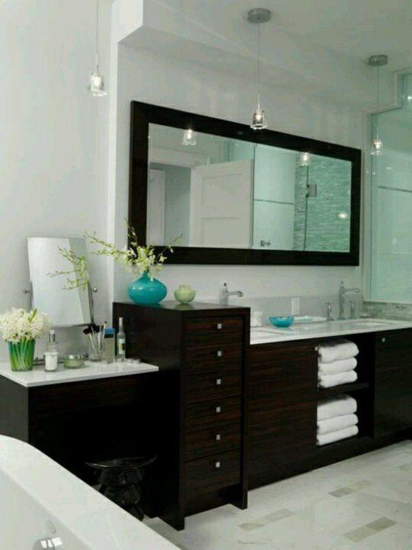 25+ ide terbaik Badezimmer spiegelschrank ikea di Pinterest - weißes badezimmer verschönern