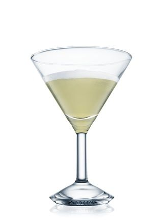 ABSOLUT Pears Martini - 4 Parts Absolut Pear Vodka, 4 Parts Simple Syrup, 4 Parts Fresh Squeezed Lemon, 1 Part Pear Puree (found in the baby food section) and a slice of fresh pear for garnish.  I make this by the pitcher and drink it by the pitcher too!