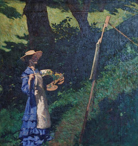 :Le peintre Károly Ferenczy 1903