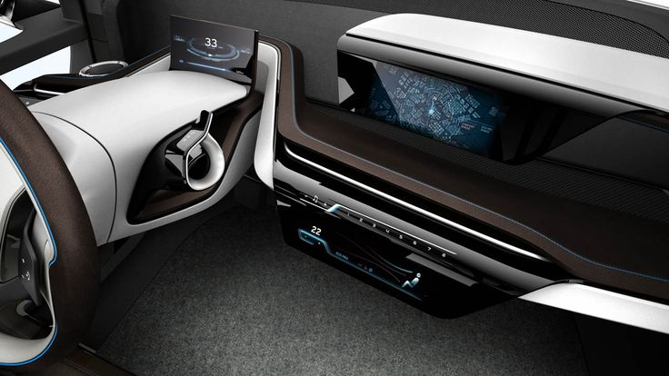 BMW i3 Concept, 2011 - Interior