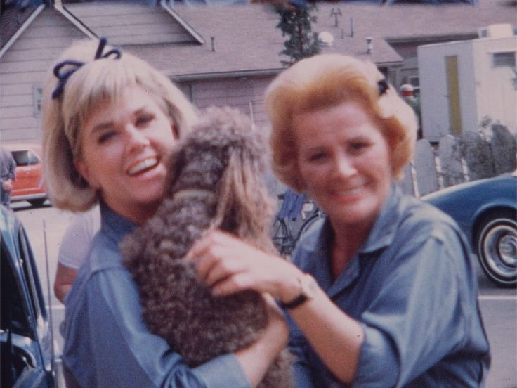 Rose Marie and Doris Day