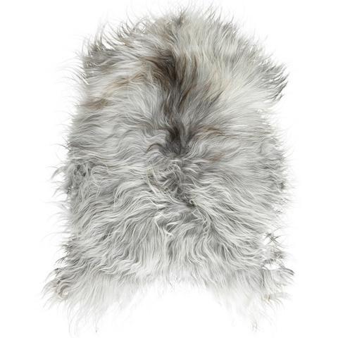 Icelandic Sheepskin Rug | Natural Grey