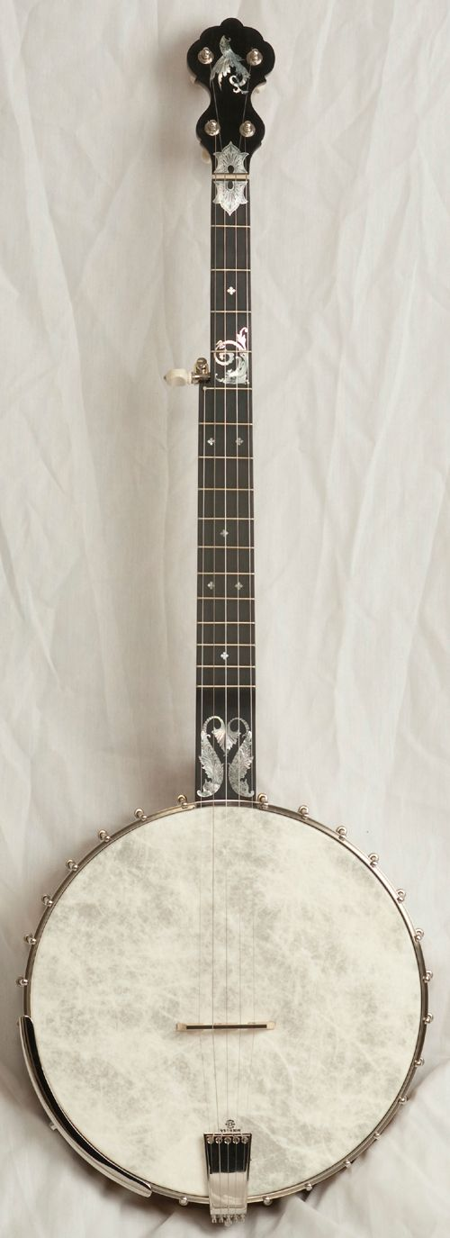 My next banjo *will* be a Flesher. // Clawhammer Banjos, page 4