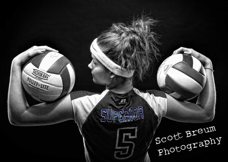 Sports senior portraits are our specialty!