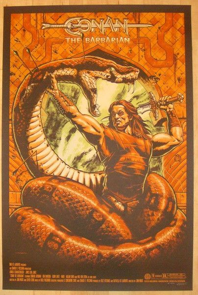 "2012 ""Conan The Barbarian"" - Movie Poster by Jason Edmiston"