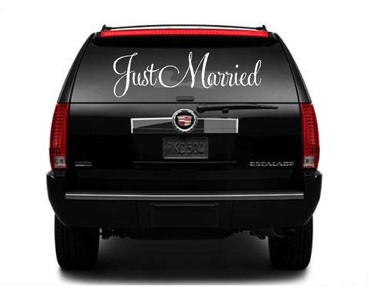 Best Wedding Car Decorations Images On Pinterest Wedding Car - Cool car decals designpersonalized whole car stickersenglish automotive garlandtc