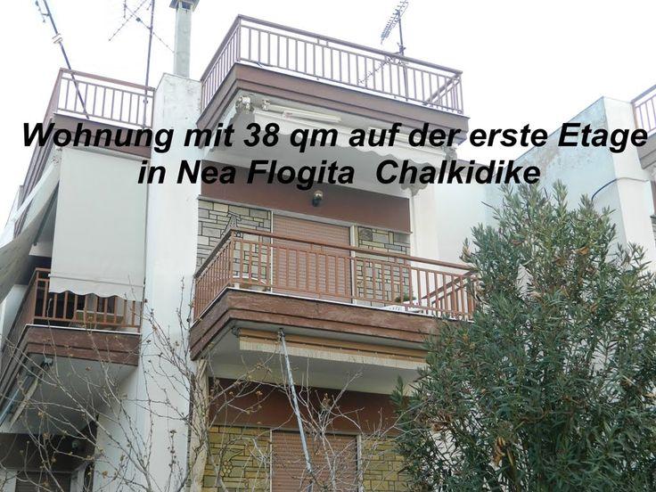 Wohnung 38 tm Nea Flogita,45 000 euro