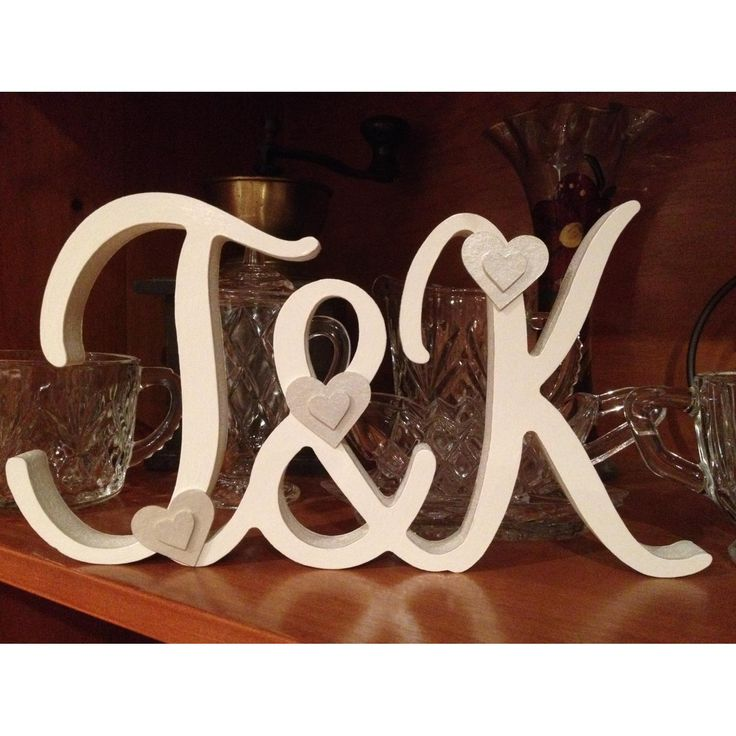 $45 Wedding Initials Personalised by NamedInStyle on Handmade Australia