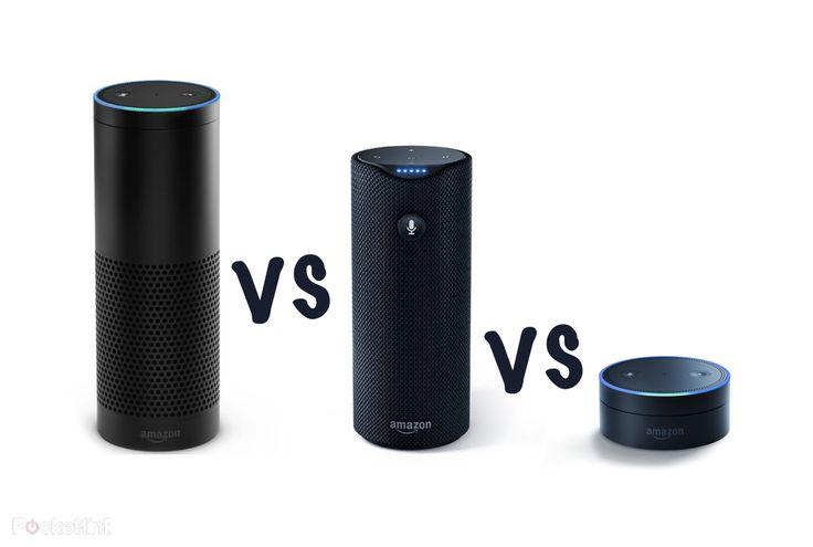Amazon Echo vs Amazon Tap vs Echo Dot: What's the difference? - Pocket-lint