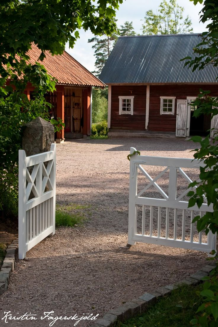 Scandinavian country...  I want this kind of place in the country someday...