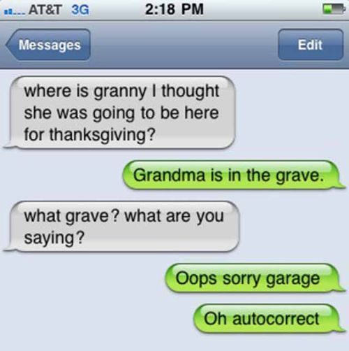 autocorrect fails | Best Autocorrect Fails Of 2010 | SMOSH