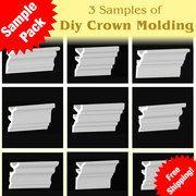 diy crown molding samples