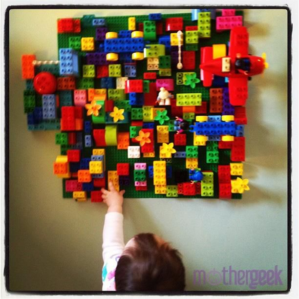 How To Make A Lego Wall   MotherGeek