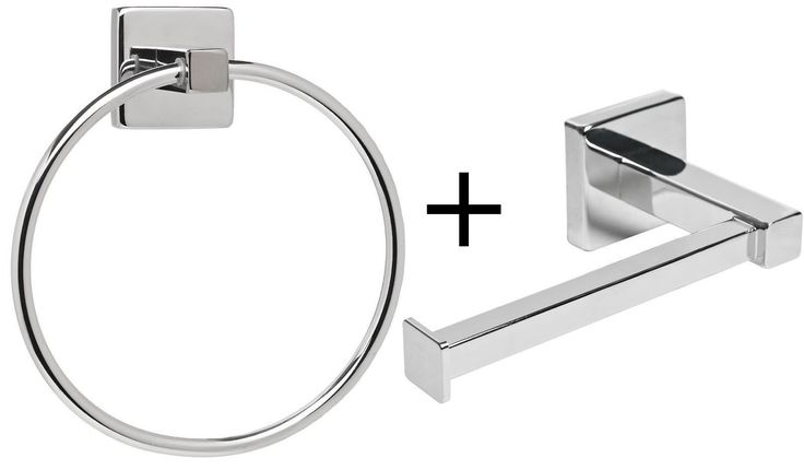What we have here! Wow, its Modern Bathroom T.... Come on, what're you waiting for http://gsr-decor.myshopify.com/products/modern-bathroom-toilet-roll-holder-towel-ring-set.