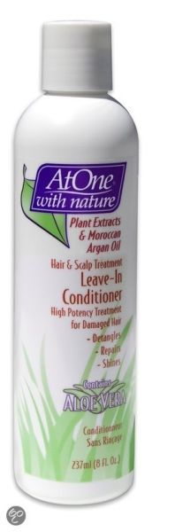 At One With Nature - Hair & Scalp Treatment - Leave-In Conditioner ...