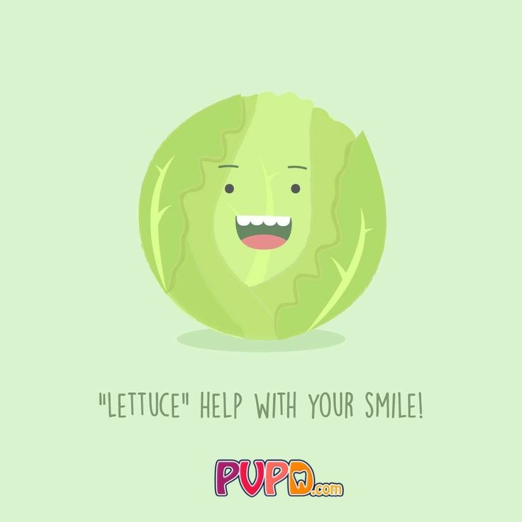 """Lettuce"" help with your smile! Do you know any other good veggie puns?  Palm Valley Pediatric Dentistry No Cavity Club  www.pvpd.com #pvpd #kid #child #children #sweettooth #baby #smile #dentist #pediatricdentist #goodyear #avondale #surprise #phoenix #litchfieldpark #verrado #dentalcare #kidsdentistavondale #childrendentistavondale #pch #nocavityclub #dino #dinodental #dinodentalchair #instafood #foodie #healthy #delicious #yummy #recipe #cook #yum #cooking"