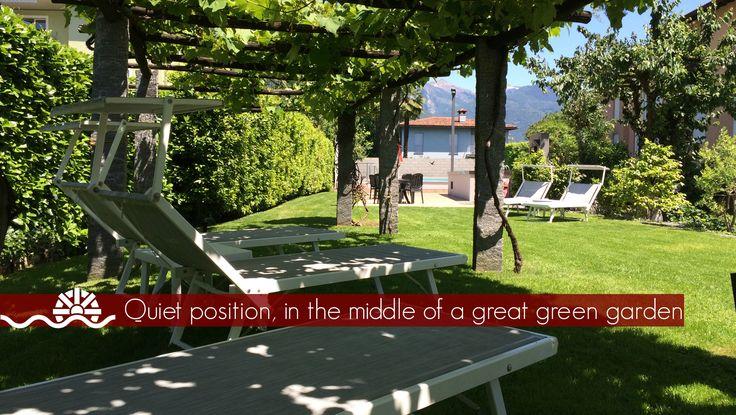 Garden view. That's relax!
