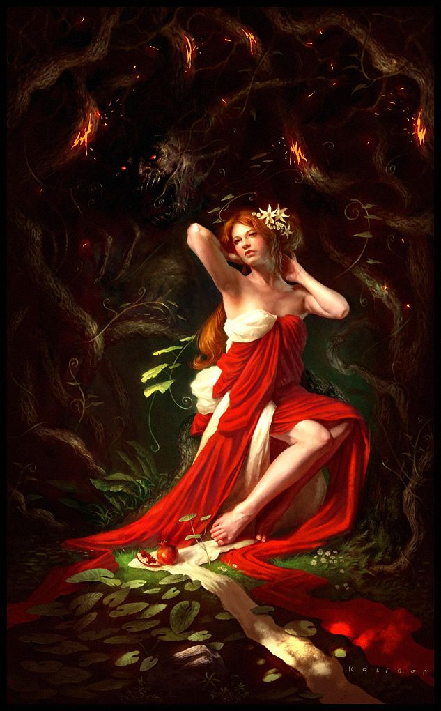 persephone | ... Deviantart - Hades and Persephone Photo ...