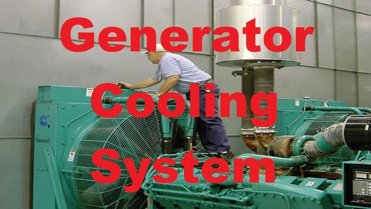 Industrial Generator Cooling System Animation video overview