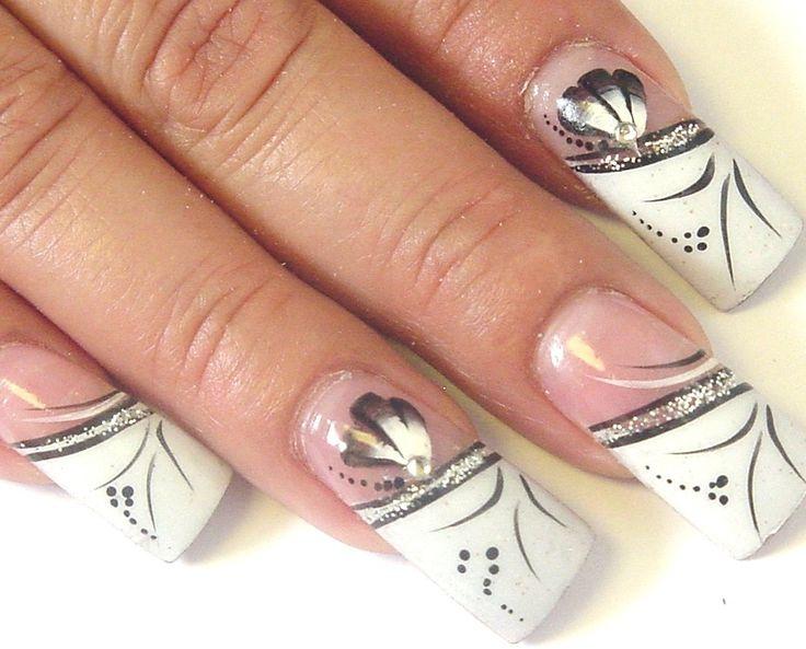 tip nail designs fake nail designs designs black acrylic nail designs