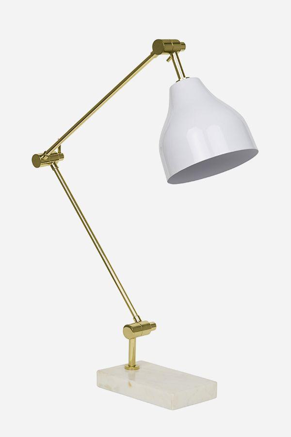 I Love Desk Lamp - Rectangle Base, Brass