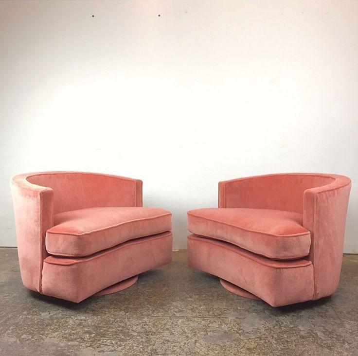 Pink Milo Baughman