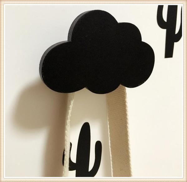 Wooden Cloud Hook