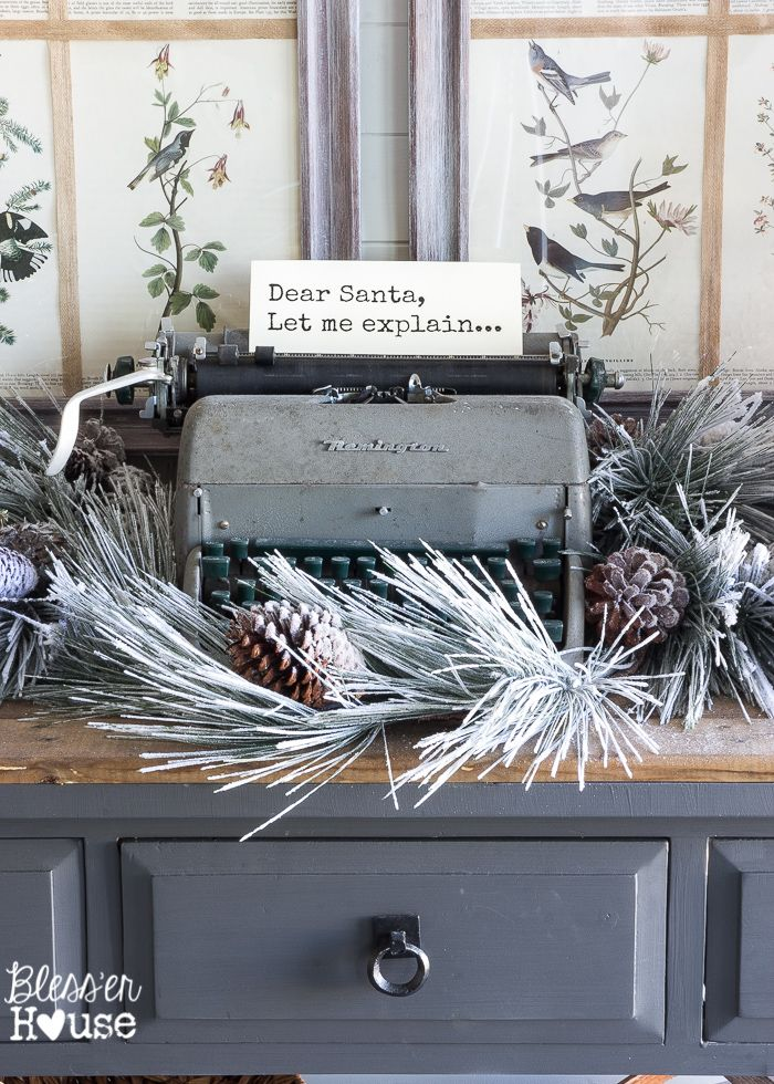 Christmas Home Tour 2015 Part 2 | blesserhouse.com: