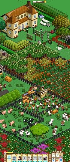 Finally, Farmville fans can spam each other on their own site, instead of spamming all their Facebook friends!