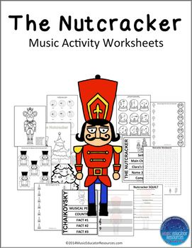 Nutcracker Music Activity Worksheets