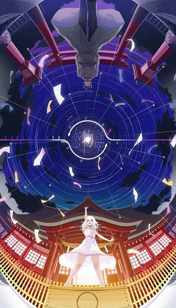 Tags: Anime, Monogatari, Sengoku Nadeko, Lif (Lif-ppp), Kaiki Deishu, Medusa Nadeko