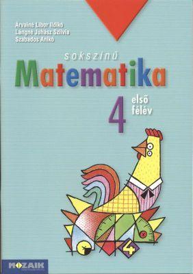 Marci fejlesztő és kreatív oldala: Mozaik-Matematika 4. o. 1.- 2. félév