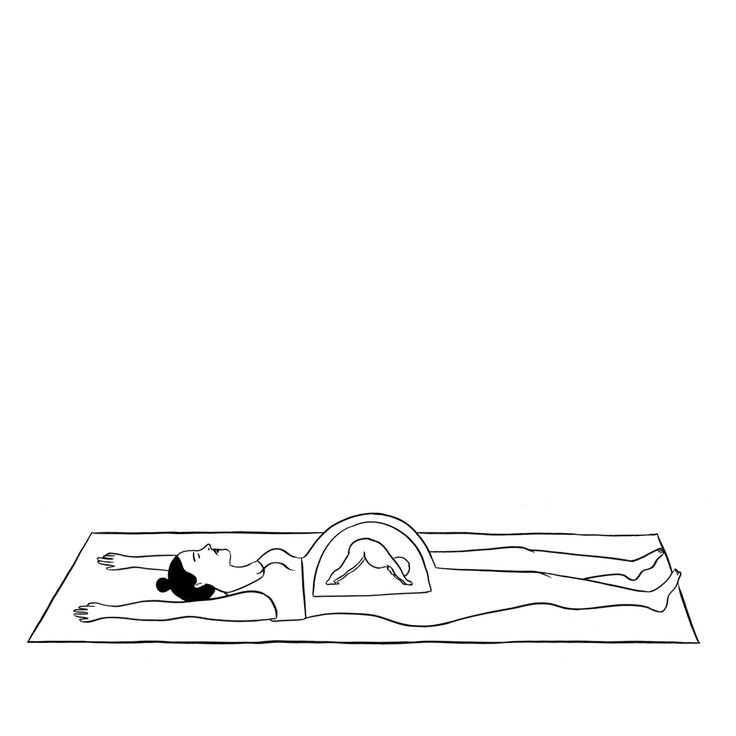 rachellevit:  I'm collaborating with artist Matt Starr on a yoga series.
